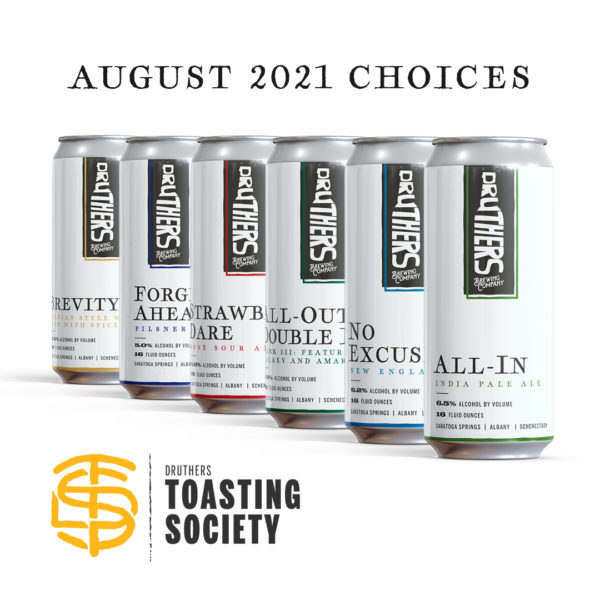 Druthers Toasting Society Can Club - Monthly Beer Subscription