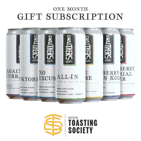 Druthers Toasting Society Can Club Gift Subscription